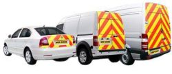High visibility chevron kits for Cars, Vans and Trucks