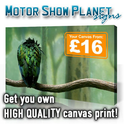 Motor Show Planet Signs